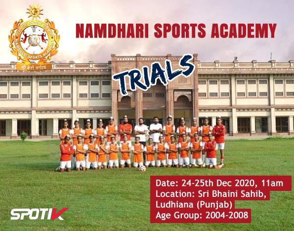 Namdhari Sports Academy, Football Trials at Ludhiana