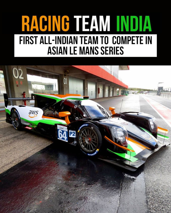 All-Indian team to compete in 2021 Asian Le Mans Series