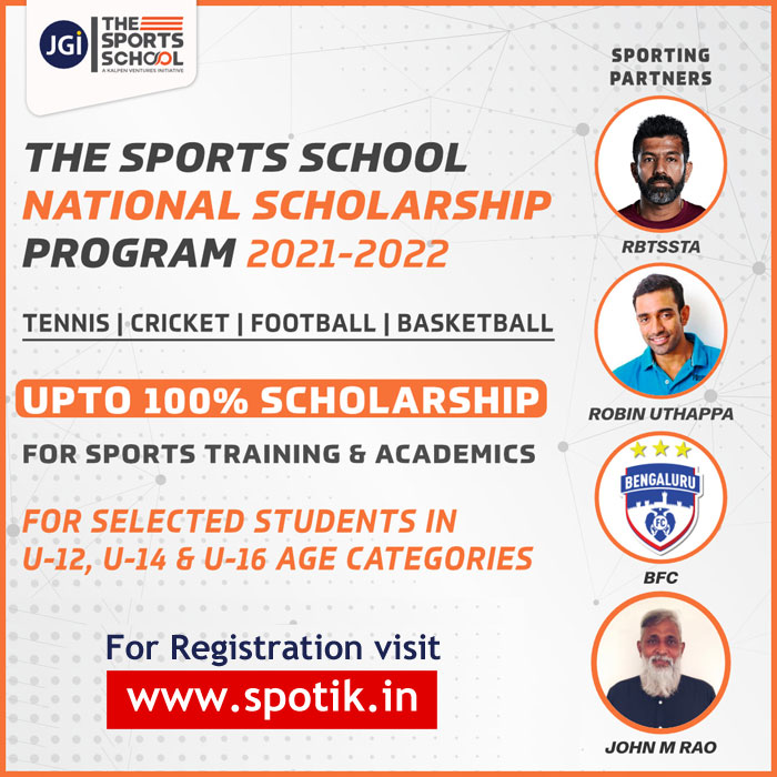 The Sports School National Scholarship Program 2021-22