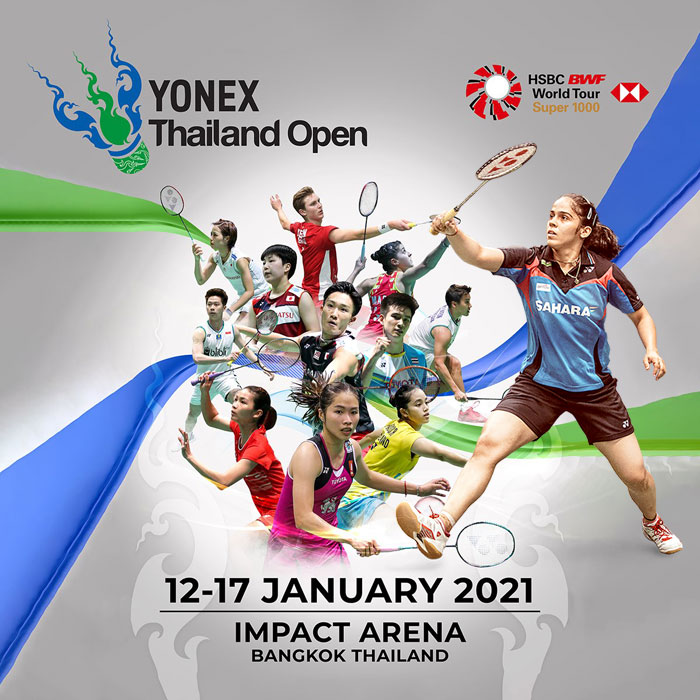 Sindhu, Saina among 8 badminton players to participate in YONEX Thailand Open.