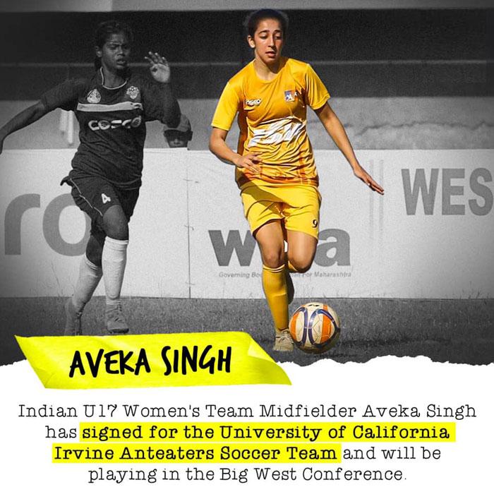 India U-17 footballer Aveka Singh