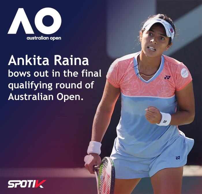 Australian Open Ankita Raina
