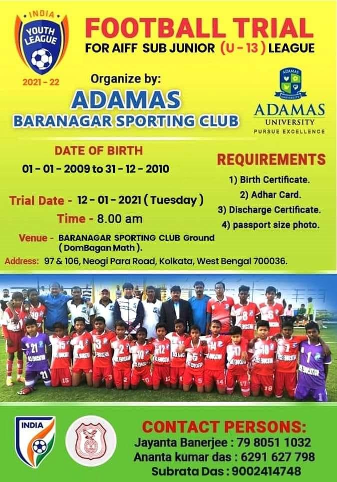 Adamas Baranagar Sporting