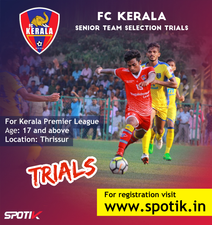 FC Kerala Trials Kerala Premier League