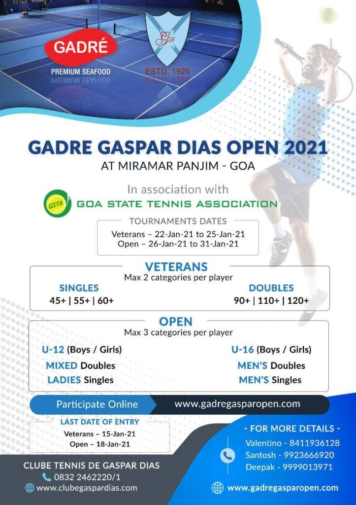 Gadre Gasper Dias Open 2021