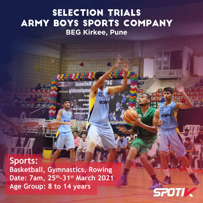Army Boys Sports Company BEG Kirkee, Pune