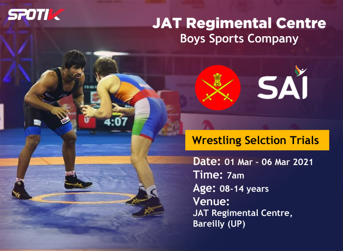 Wrestling Selection Trials, Boys Sports Company, Bareilly