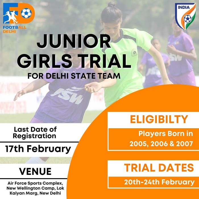 Delhi Junior Girls Trials