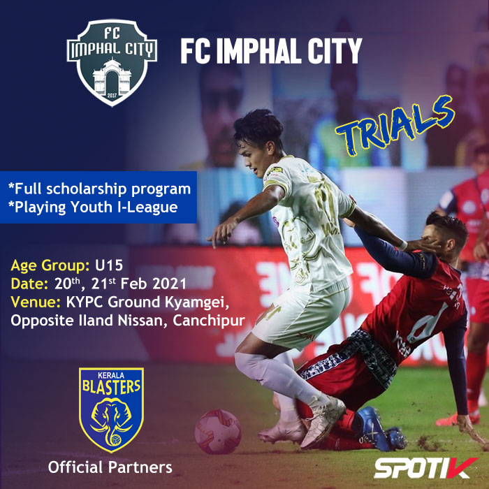 FC Imphal City Trials, Scholarship Program