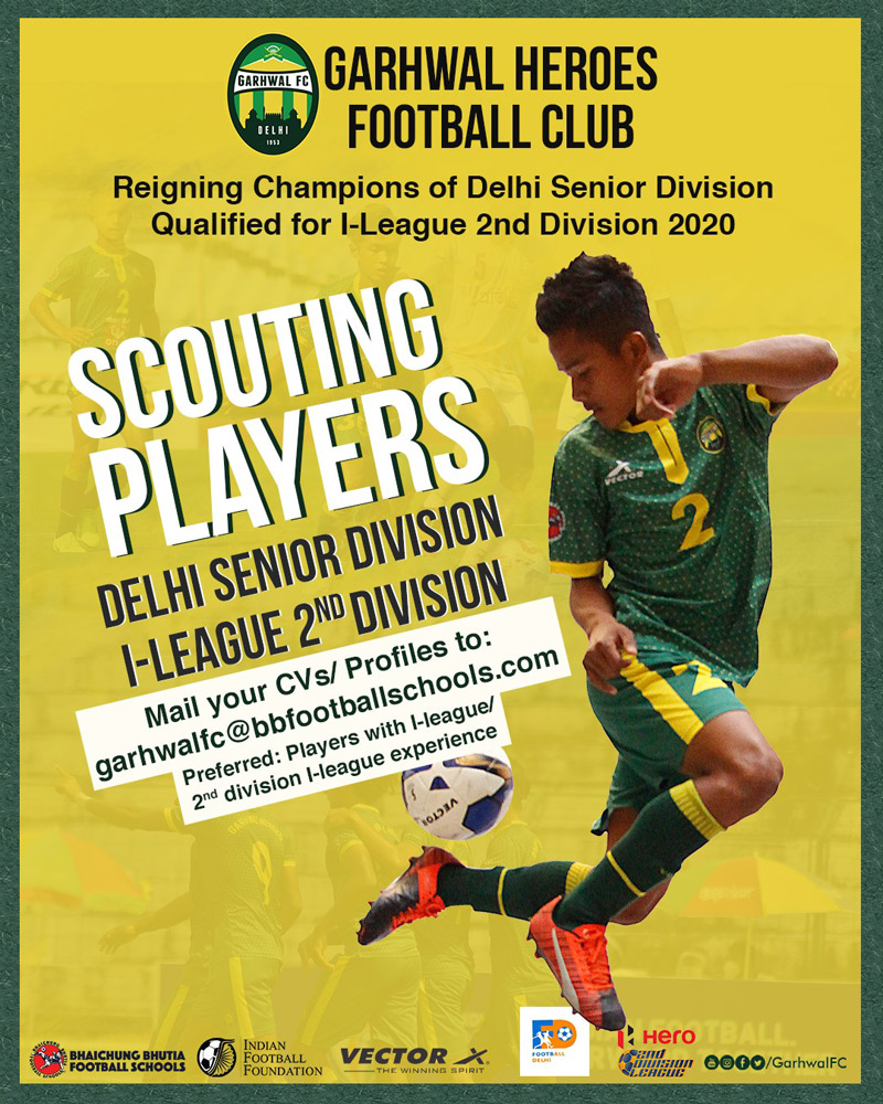 Garhwal Heroes FC Scouting, 2 div I league