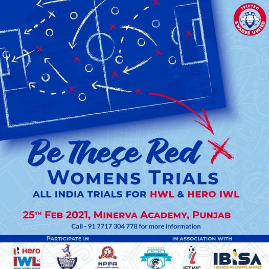 Techtro Swades United women's team Trials, Punjab