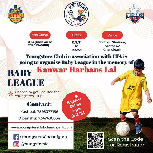 U-13 Baby League: Youngsters Football Club, Chandigarh