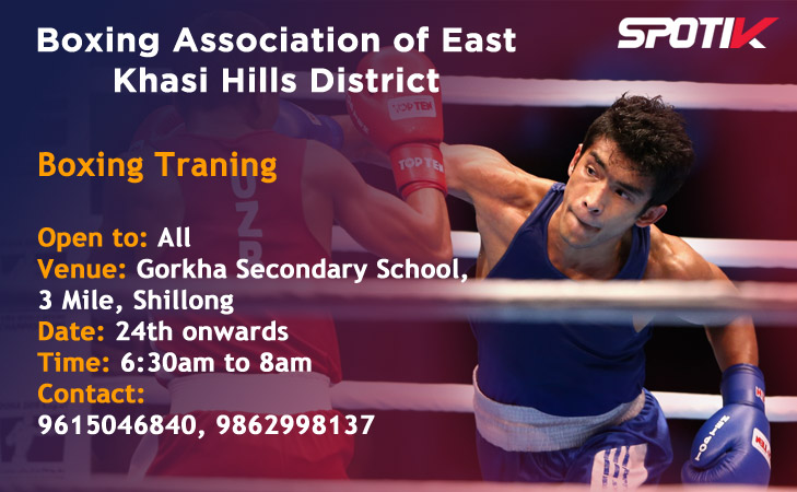 Boxing Training - Shillong