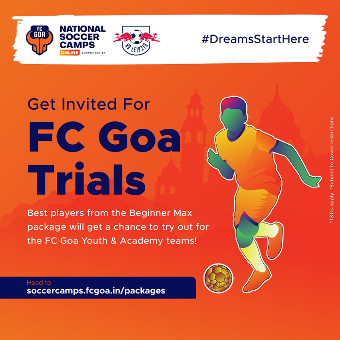 Get Invited to FC Goa Trials