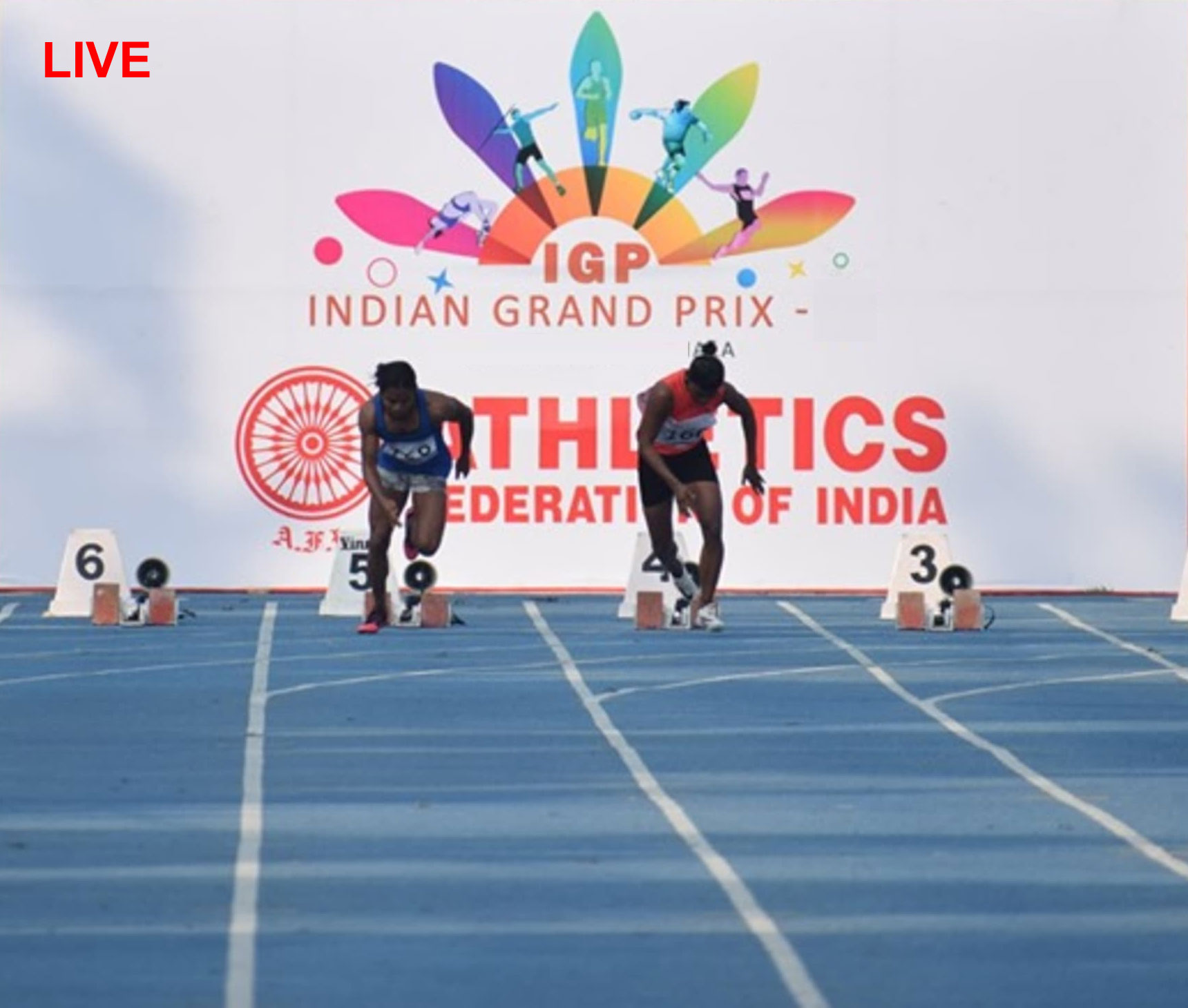 indian grand prix 2021 athletics