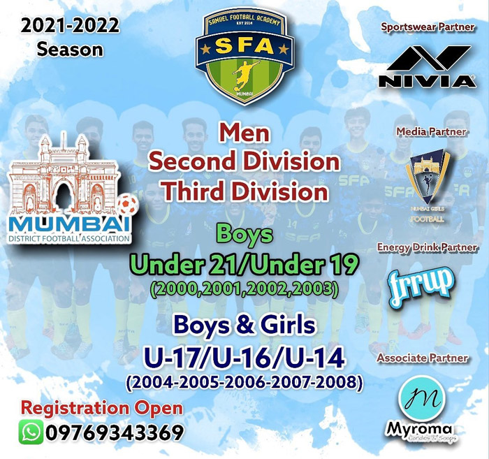Samuel Football Academy Trials, Mumbai