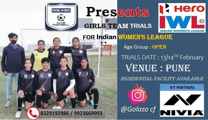 Golazo CF Women's Team Trials, Pune