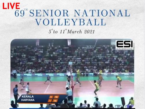 Senior National Volleyball