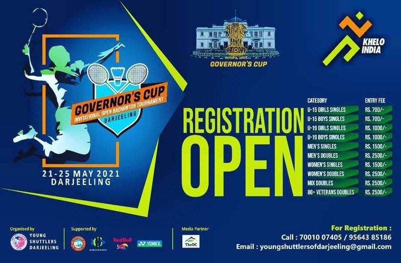 Badminton- Governor's Cup, Darjeeling