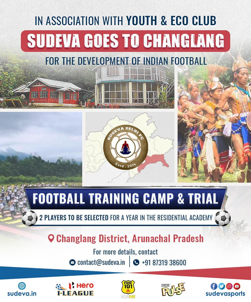 Sudeva FC Football Camp & Trials at Arunachal Pradesh