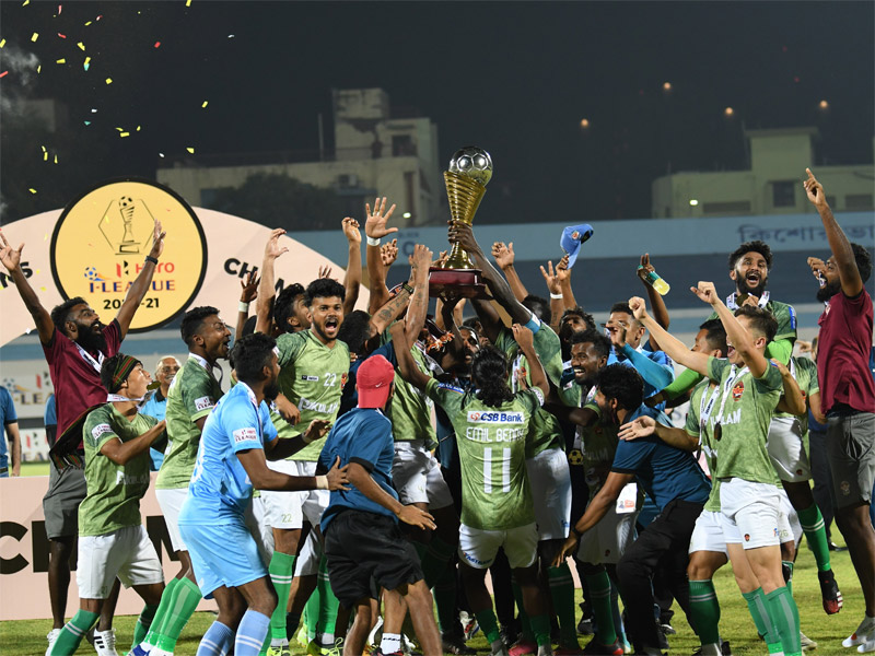 Gokulam Kerala crowned champions after comeback win over TRAU FC
