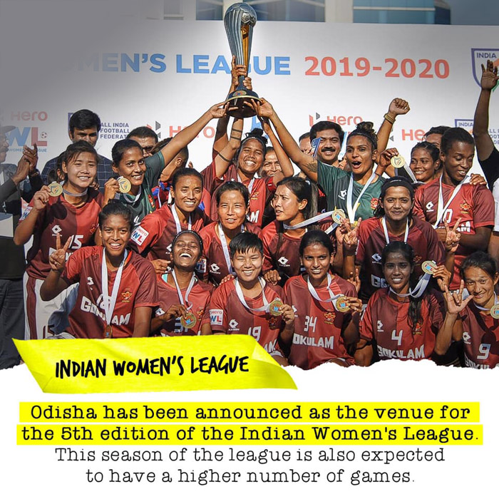 Hero IWL 2020-21 to be hosted in Odisha
