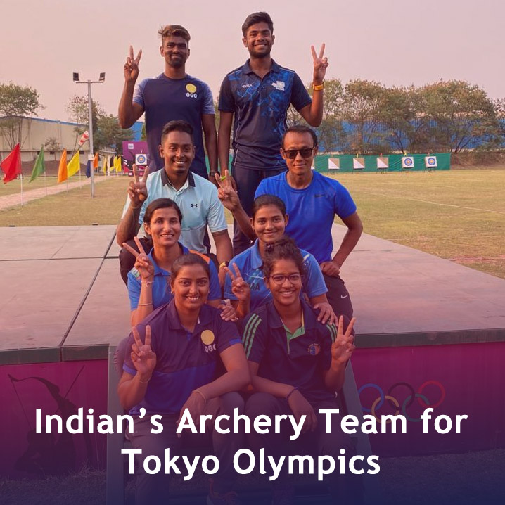 Indian Archery team