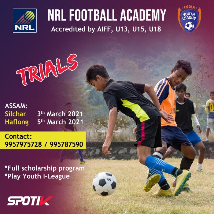 NRL Football Academy Trials, Silchar
