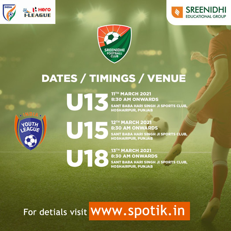 Sreenidhi FC Youth I-league Punjab Trials