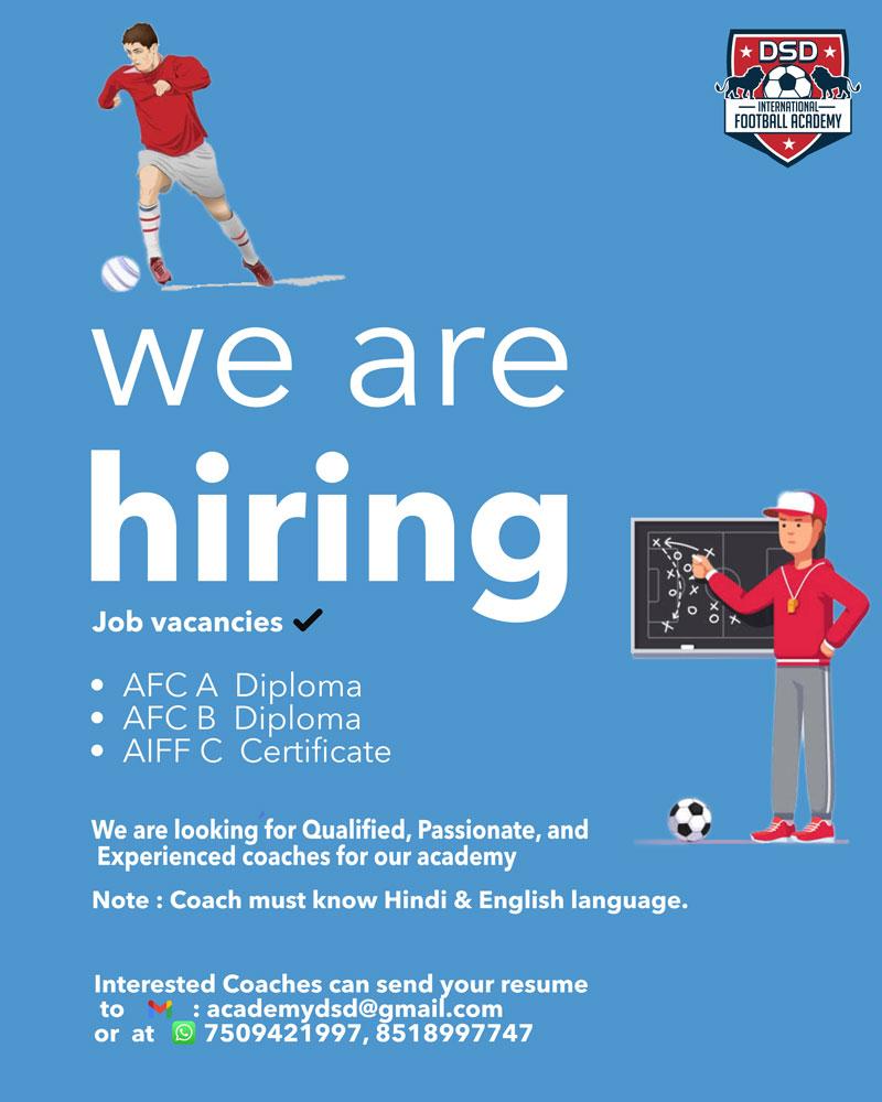 DSD International Football Academy based in Madhya Pradesh