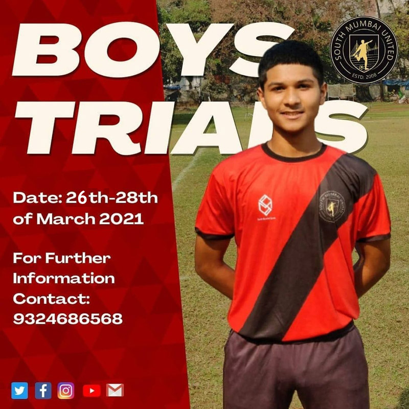 South Mumbai United FC Trials, Mumbai