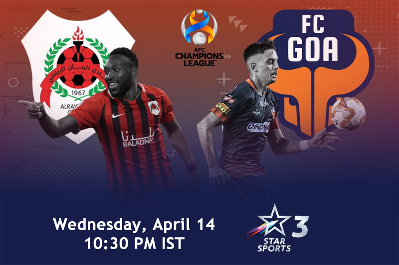 AFC Champions League 2021: FC Goa vs Al Rayyan
