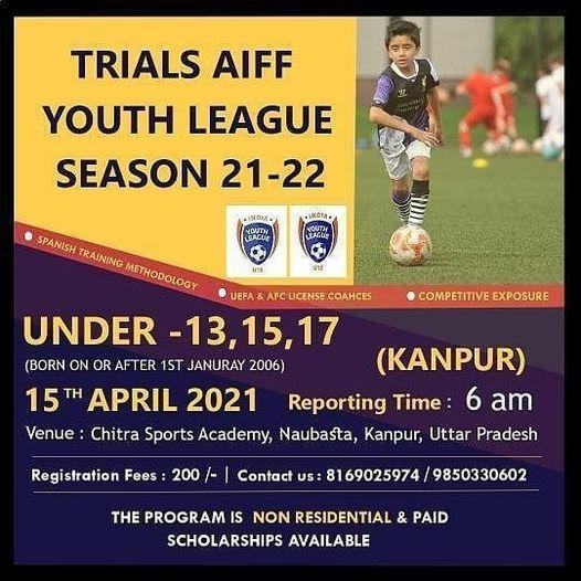 AIFF Youth League Trials, Kanpur