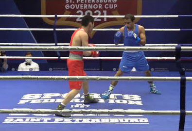 Amit Panghal Governor's Cup 2021