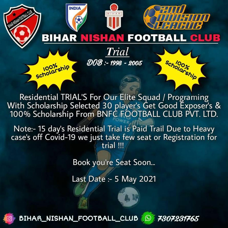 BIHAR Nishan Football CLUB