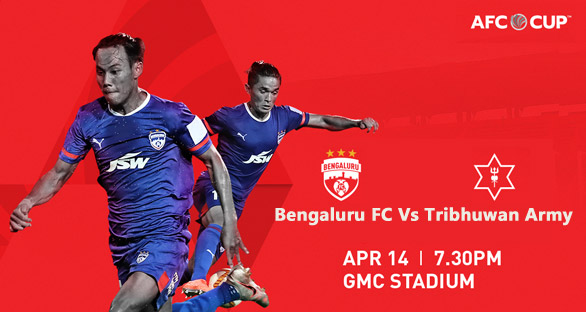 The Blues will take on Tribhuwan Army FC from Nepal, in their Preliminary Stage Two clash of the 2021 AFC Cup, in Goa, on April 14.