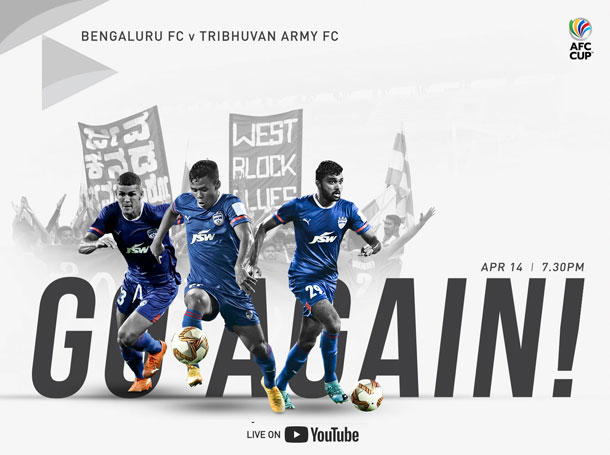 AFC Cup, Catch live on Bengaluru FC club's official YouTube channel
