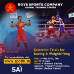Boys Sports Company Selection Trials, Jabalpur