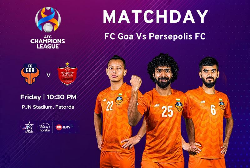 FC Goa vs Persepolis FC