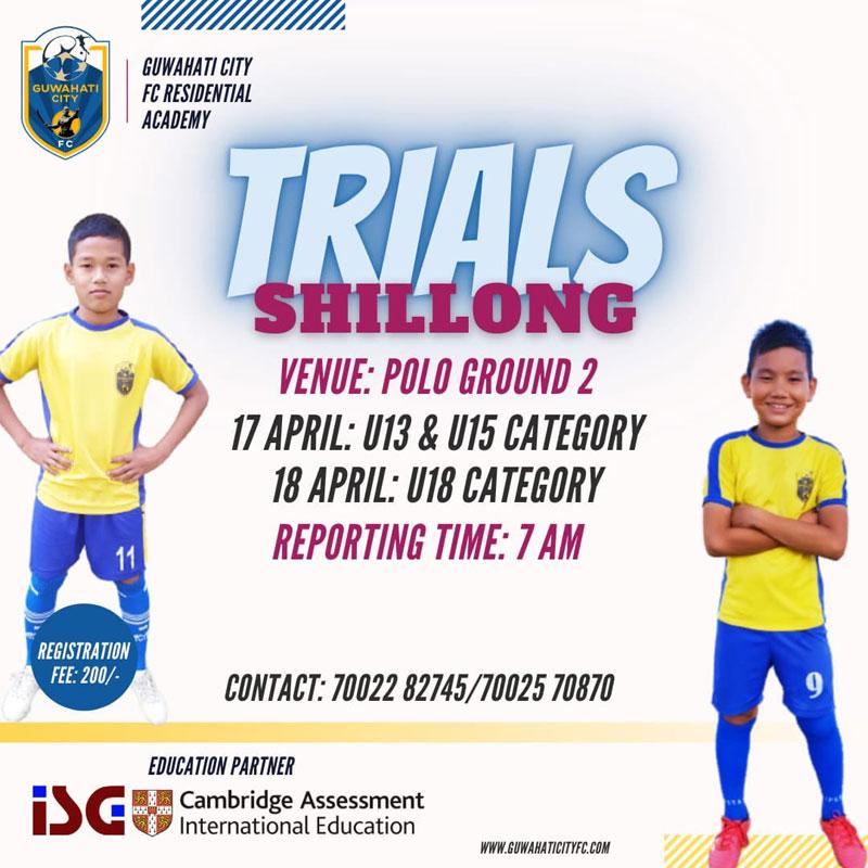 Guwahati City FC - Shillong Trials