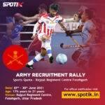 Army Recruitment Rally, Rajput Regiment Centre Fatehgarh