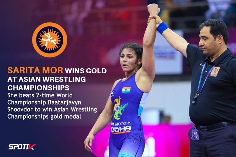 Wrestling Asian Championships: Sarita Mor