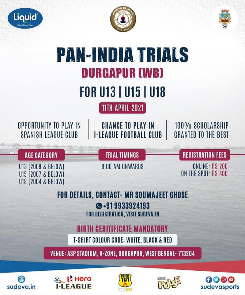 Sudeva FC Trials