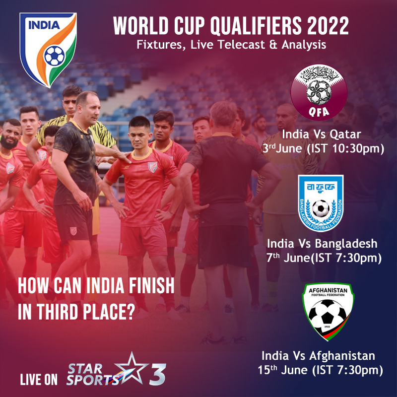 How can India finish in third place?