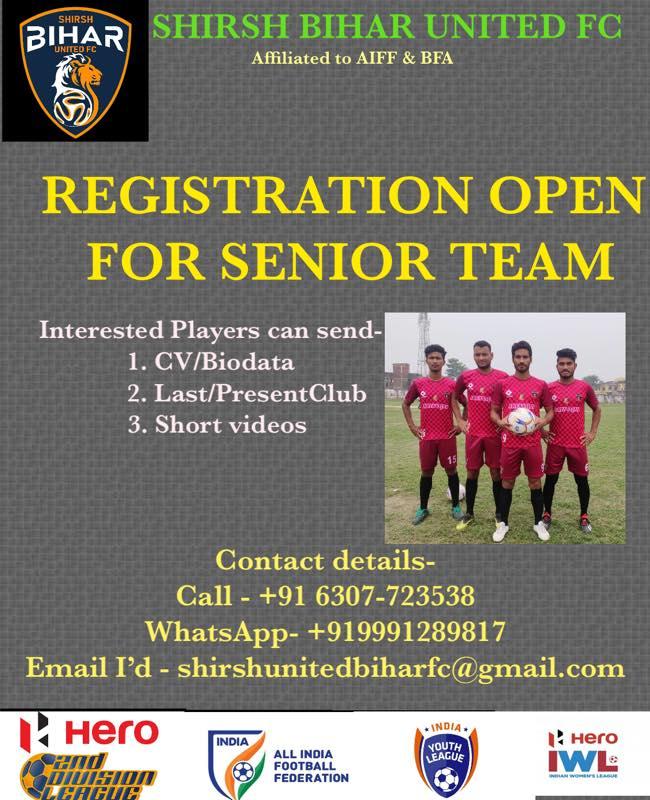 Shirsh Bihar United FC