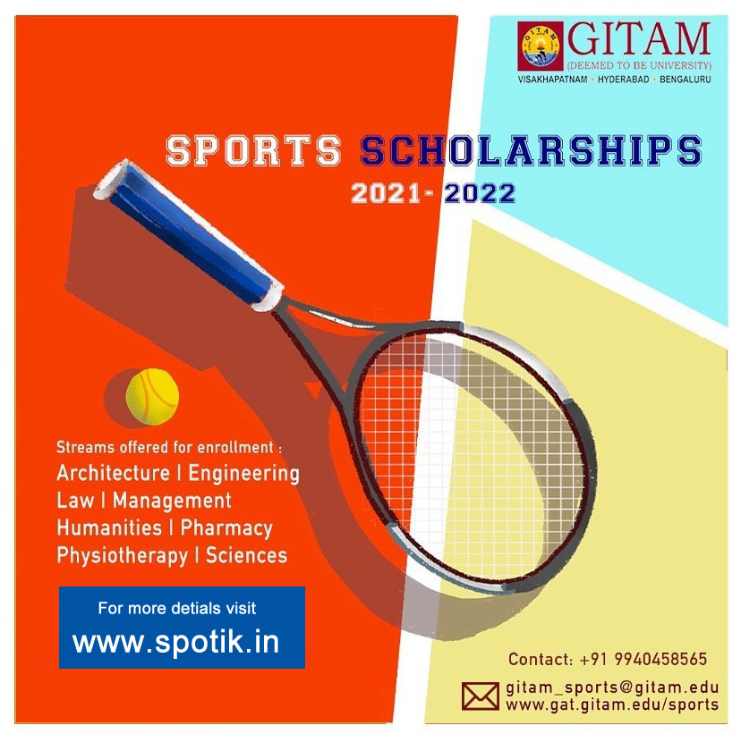 GITAM Deemed University Sports Quota Admission.