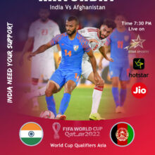 Matchday : India Vs Afghanistan