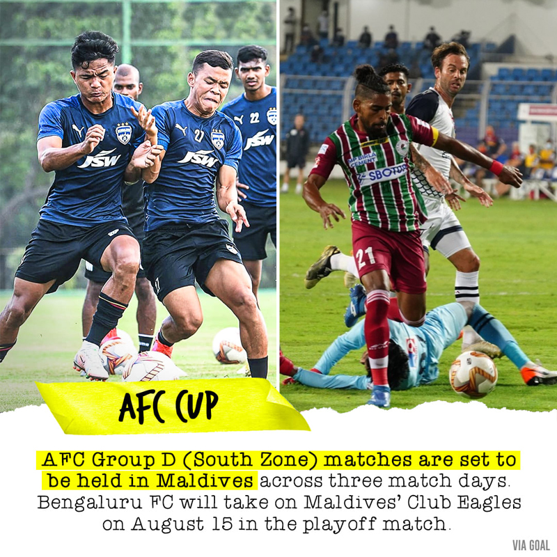 AFC Cup (South) Group D and playoff matches to be held in Maldives
