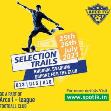 Arco FC Youth I-league Trials, Kashmir