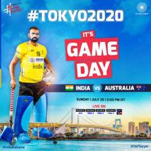 Tokyo Olympics: Hockey Day 2 — India vs Australia